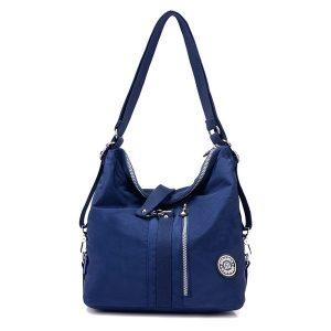 Jinqiaoer Women Waterproof Nylon Lightweight Multifunction Handbag Backpack_016