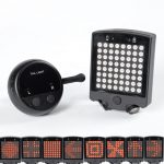 Leadbike-20164 LED Wireless Remote Laser Bicycle Rear Tail Light _001