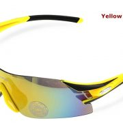RockBros Polarized UV400 Bike Cycling Sunglasses_Yellowandblack
